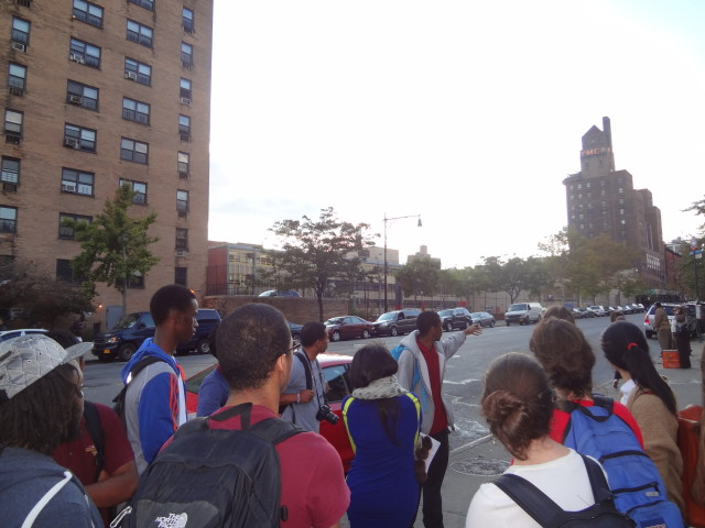 Youth Historians in Harlem - Walking Tour 1